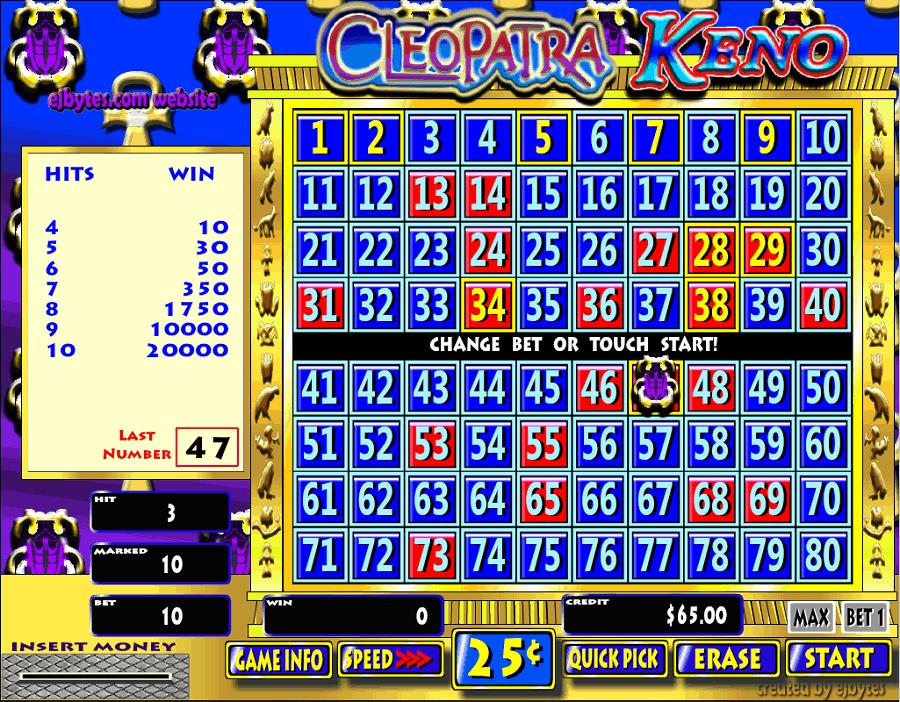 Game casino đẳng cấp keno kiếm tiền như thế nào? - Hình 2