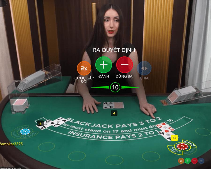 7 kỹ năng giúp bạn chiến thắng nhà cái Blackjack