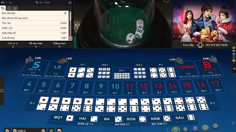 Dễ dàng kiếm tiền từ game Sicbo online tại nhà cái trực tuyến