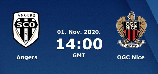 Soi kèo nhà cái bóng đá trận Angers SCO vs Nice 21:00 – 1/11/2020
