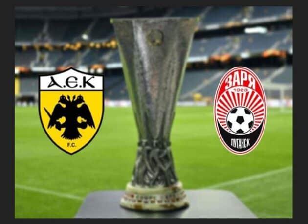 Soi kèo nhà cái bóng đá trận AEK Athens vs Zorya Luhansk 00:55 – 27/11/2020