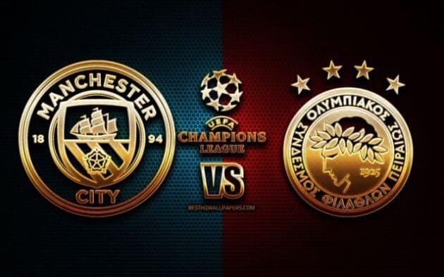 Soi kèo nhà cái bóng đá trận Manchester City vs Olympiakos Piraeus 03:00 – 04/11/2020