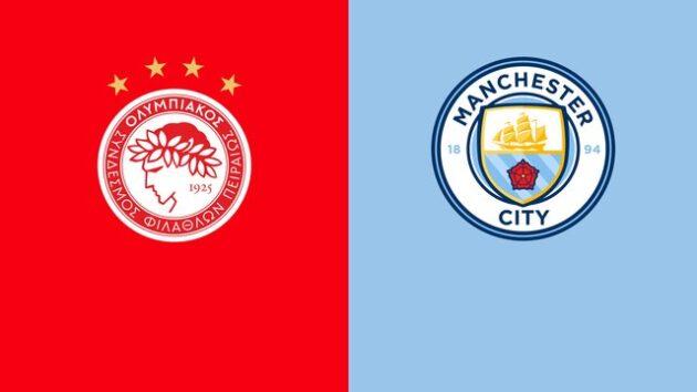 Soi kèo nhà cái bóng đá trận Olympiakos vs Manchester City 19:00 – 1/11/2020