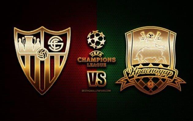 Soi kèo nhà cái bóng đá trận Sevilla vs Krasnodar 04:00 – 05/11/2020