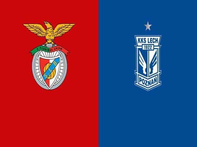 Soi kèo nhà cái bóng đá trận Benfica vs Lech Poznań 03:00, 04/12/2020
