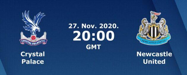 Soi kèo nhà cái bóng đá trận Crystal Palace vs Newcastle United 03:00 – 28/11/2020
