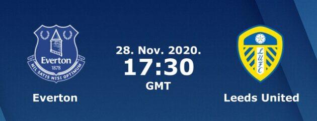 Soi kèo nhà cái bóng đá trận Everton vs Leeds United 00:30 – 29/11/2020