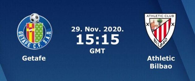 Soi kèo nhà cái bóng đá trận Getafe vs Ath.Bilbao 22:15, 29/11/2020