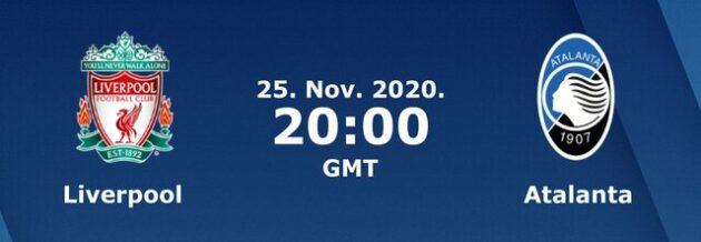 Soi kèo nhà cái bóng đá trận Liverpool vs Atalanta 03:00 – 26/11/2020