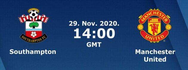 Soi kèo nhà cái bóng đá trận Southampton vs Manchester United 21:00 – 29/11/2020