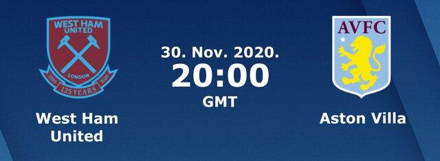 Soi kèo nhà cái bóng đá trận West Ham United vs Aston Villa 03:00 – 1/12/2020
