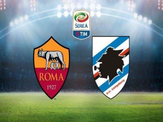 Soi kèo nhà cái bóng đá trận AS Roma vs Sampdoria 21:00 – 03/01/2021