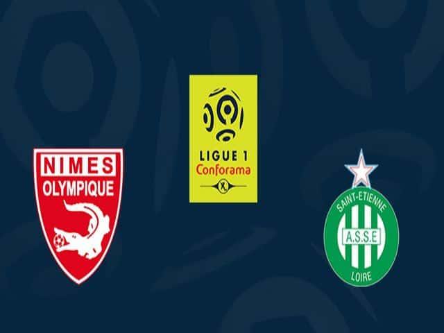 Soi kèo nhà cái bóng đá trận Nimes vs St Etienne 22:05 – 04/04/2021