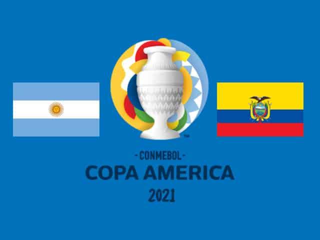Soi kèo nhà cái bóng đá trận Argentina vs Ecuador 08:00 – 04/07/2021