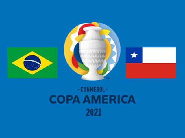 Soi kèo nhà cái bóng đá trận Brazil vs Chile 07:00 – 03/07/2021