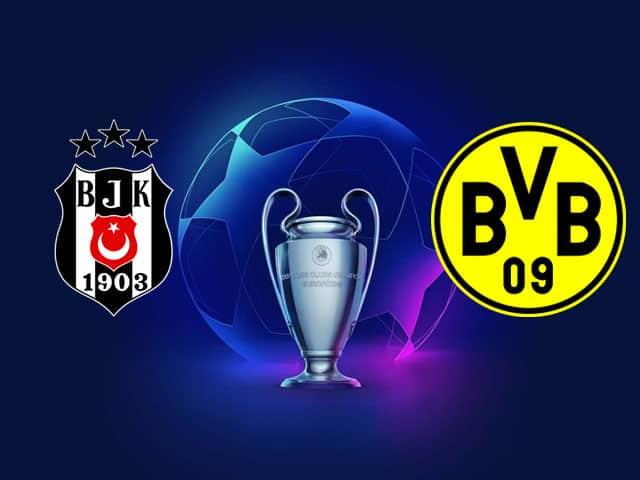 Soi kèo nhà cái bóng đá trận Besiktas vs Dortmund 23:45 – 15/09/2021