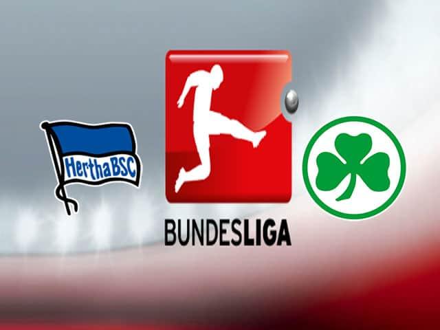 Soi kèo nhà cái bóng đá trận Hertha Berlin vs Greuther Furth 01:30 – 18/09/2021